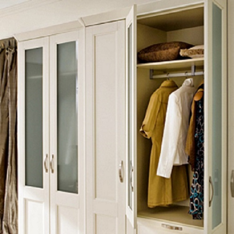 solid painted or natural wood wardrobes